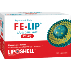 FE-LIP<sup>®</sup><br>LIPOSOMALNE ŻELAZO 20 mg